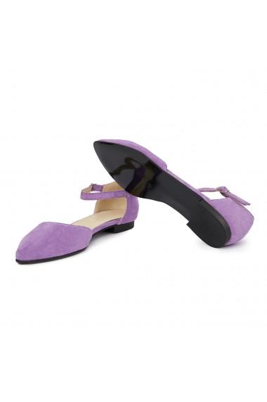 Sandale dama din piele naturala cu toc mic 5406