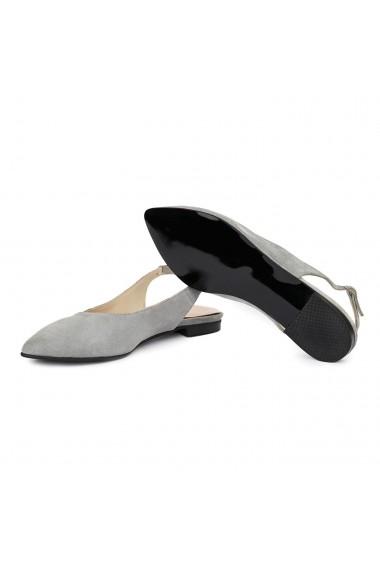 Sandale dama din piele naturala cu toc mic 5407