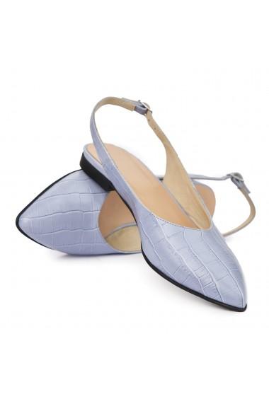 Sandale dama din piele naturala cu toc mic 5408