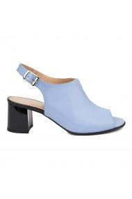 Sandale elegante din piele naturala bleu ciel 5432