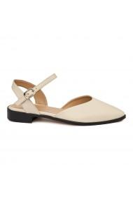 Sandale elegante din piele naturala cu toc mic 5477