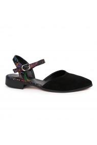Sandale elegante din piele naturala cu toc mic 5479