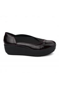 Pantofi dama fara siret din Piele Naturala 1876