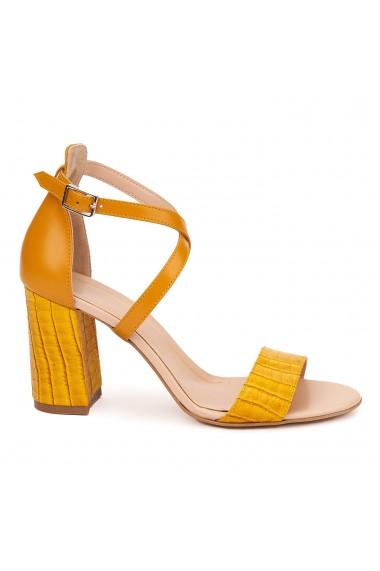 Sandale Elegante Din Piele Naturala 5490