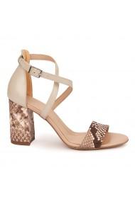 Sandale Elegante Din Piele Naturala 5494