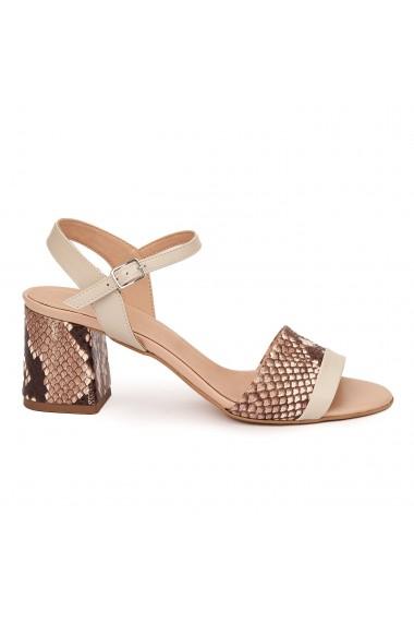 Sandale Elegante Din Piele Naturala 5495