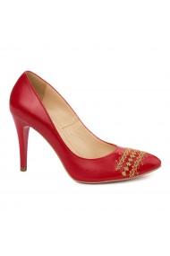 Pantofi dama fara siret din Piele Naturala 4946