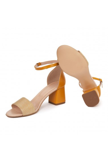 Sandale Elegante Din Piele Naturala 5533