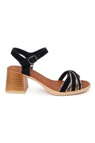 Sandale dama cu platforma din piele naturala 5564