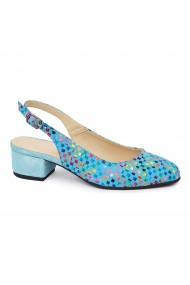 Sandale elegante din piele naturala cu toc mic 5583