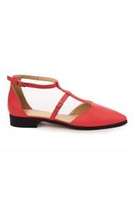 Sandale elegante din piele naturala cu toc mic 5735
