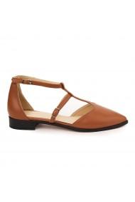 Sandale elegante din piele naturala cu toc mic 5736