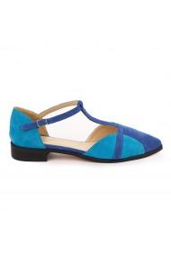 Sandale elegante din piele naturala cu toc mic 5738