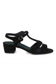 Sandale dama din piele naturala cu toc mic 5726