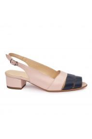 Sandale elegante din piele naturala cu toc mic 5788