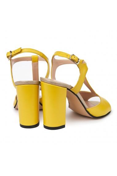 Sandale elegante din piele naturala 5571