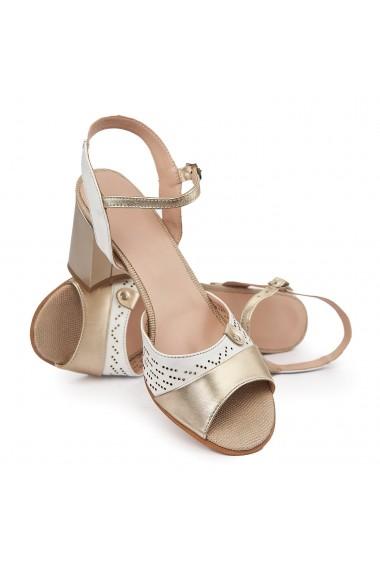 Sandale elegante din piele naturala 5689