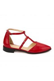 Sandale elegante din piele naturala cu toc mic 5812