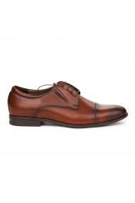 Pantofi Eleganti din Piele Naturala maro 7060