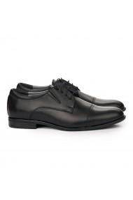 Pantofi Eleganti din Piele Naturala neagra 7110