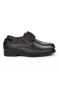 Pantofi Eleganti din Piele Naturala neagra 7111