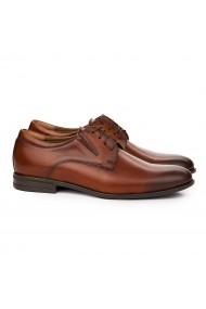 Pantofi Eleganti din Piele Naturala maro 7112