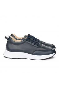 Pantofi Casual Piele Naturala bleumarin 7116