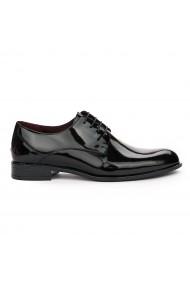 Pantofi Barbatesti Din Piele Naturala neagra 7124