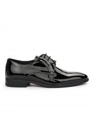 Pantofi Eleganti din Piele Naturala neagra 7122