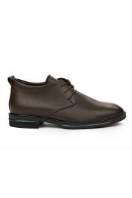 Pantofi barbati din piele naturala maro 7133