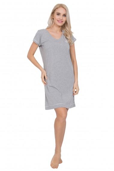 Rochie de noapte 3/4 stil tricou cu maneca scurta