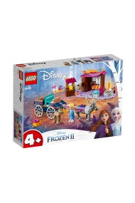 Aventura Elsei cu trasura Lego Disney Princess
