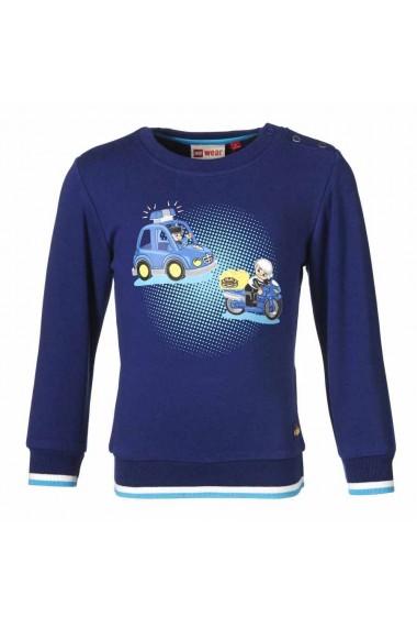 Bluza LEGO DUPLO cu masinute albastra 74