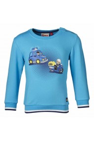 Bluza LEGO DUPLO cu masinute albastru deschis 74