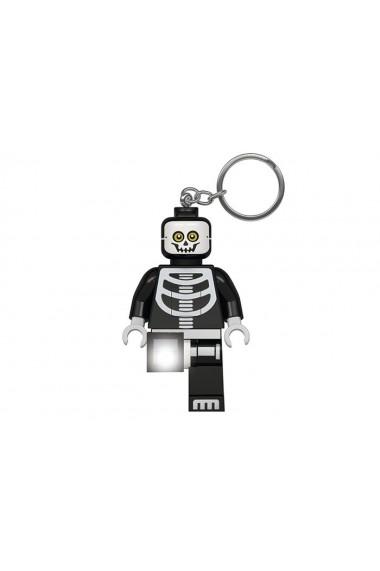 Breloc cu lanterna LEGO Classic Schelet
