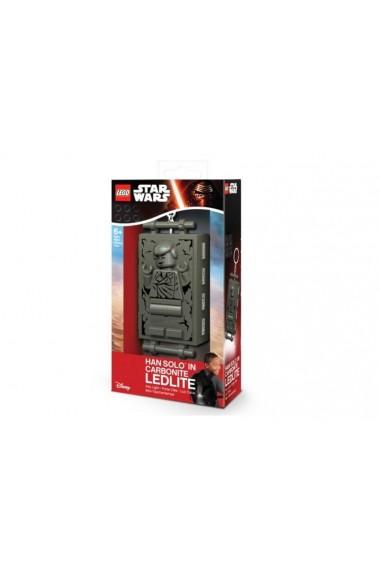 Breloc cu lanterna Lego Han Solo Carbonite