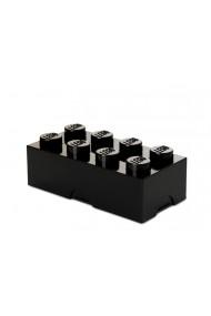 Cutie sandwich sau depozitare Lego 2x4 negru