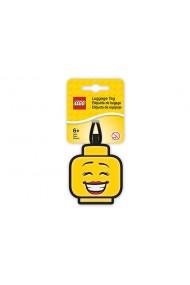 Eticheta bagaje cap minifigurina fata Lego