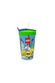 Pahar LEGO Iconic cu pai
