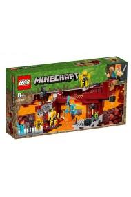 Podul Flacarilor Lego Minecraft