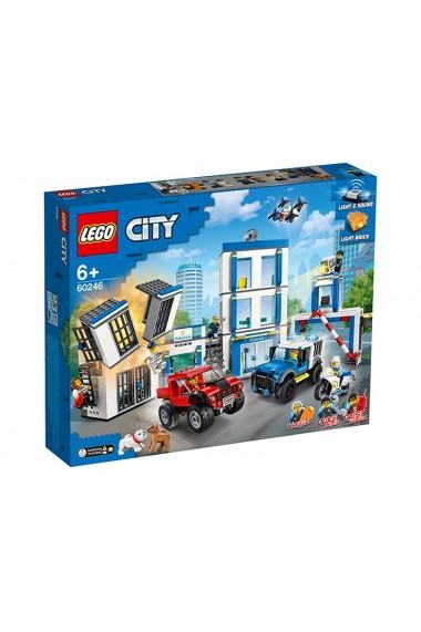 Sectie de politie si masini Lego City