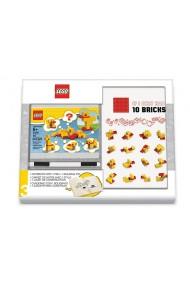 Set agenda si pix cu gel plus 10 caramizi Lego