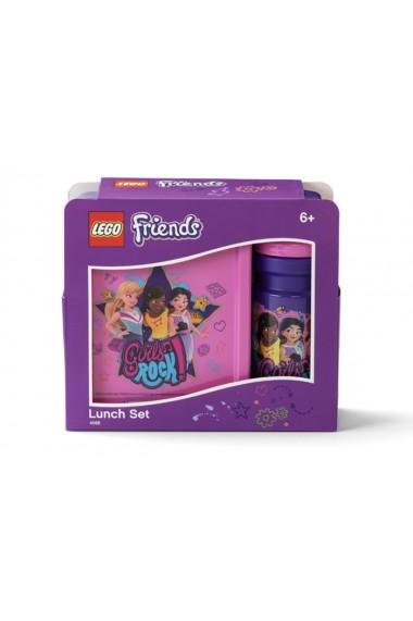 Set pentru pranz LEGO Friends Girls Rock