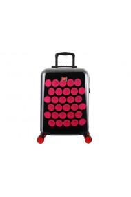 Troller LEGO ColorBox negru si roz