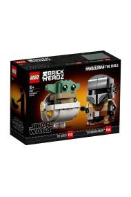 Mandalorian si Copilul Lego Star Wars
