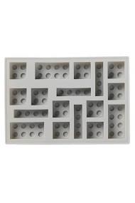 Tava pentru cuburi de gheata LEGO gri