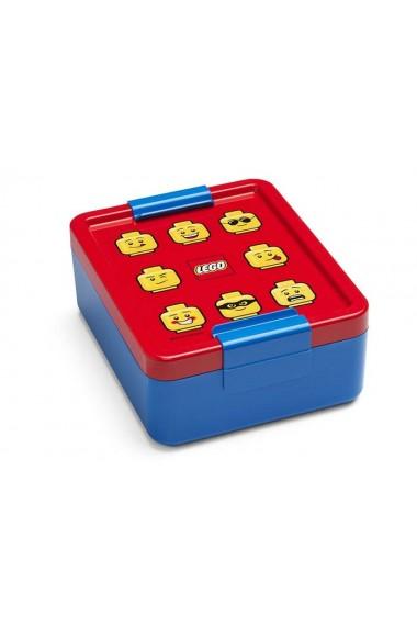 Cutie pentru sandwich Lego Classic albastru rosu
