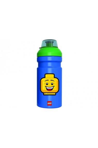 Sticla Lego Iconic albastru verde