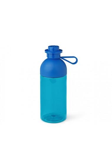 Sticla pentru apa Lego albastra 0 5 litri