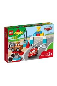 Ziua cursei lui Fulger McQueen Lego Duplo